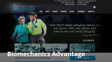 Biomechanics Advantage