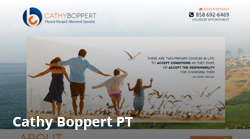 Cathy Boppert, Physical Therapist