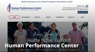 Human Performance Center Physical Therapy