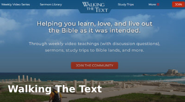 Walking The Text by Brad Gray